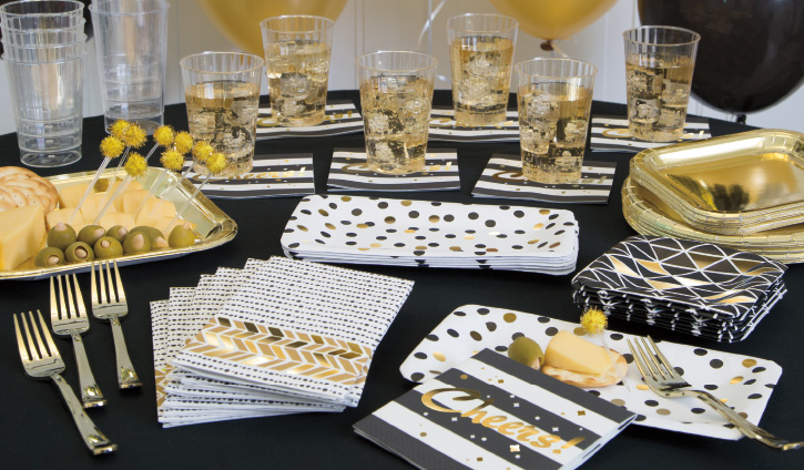 Gold Foil Chic Party