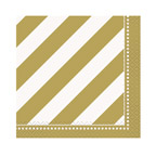Golden Birthday Party Beverage Napkins
