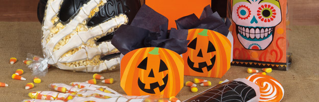 Halloween cello bags, treat bags, cookie bags, party bags, treats, trick or treat bags, favor boxes, pumpkin