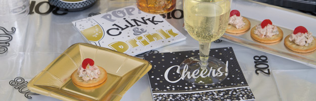 New Years Cocktail Napkins