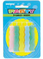 34120 Flat Squiggle Candles