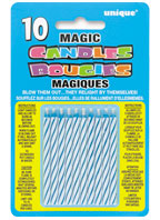 9805B Blue Magic Candles