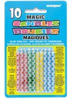 9806 Multi Diamond Dot Magic Candles