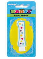 34001 Party Numeral1 Candle
