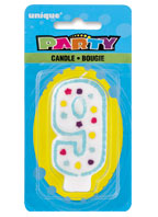 34009 Party Numeral 9 Candle