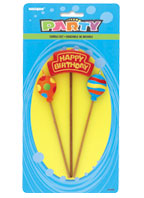 34089 Happy BIrthday Balloons Candles Set
