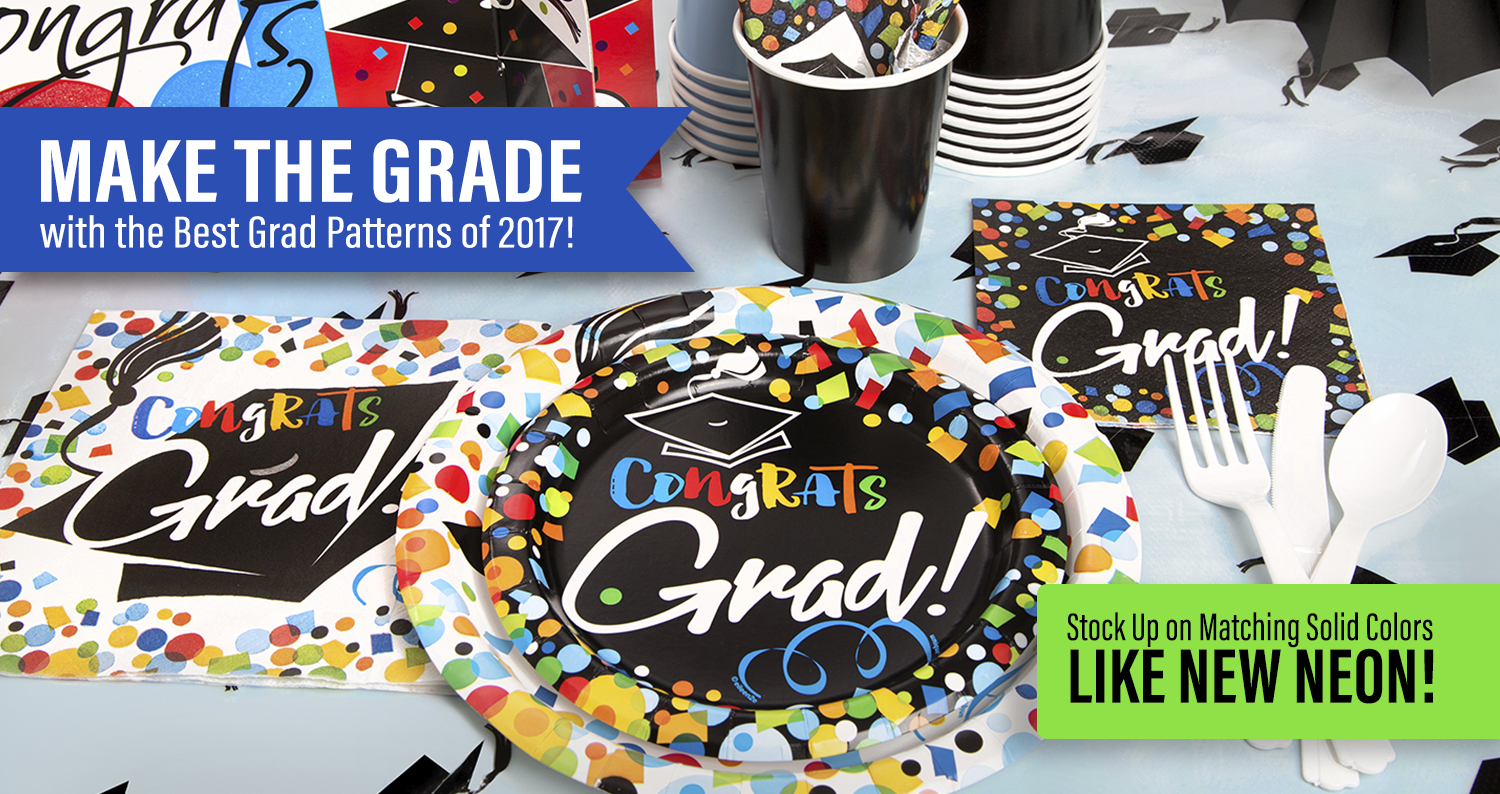 Make the Grade with New Grad Designs